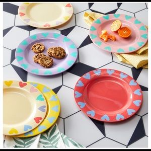 I Heart You Dishware, 6 Pack by Drew Barrymore